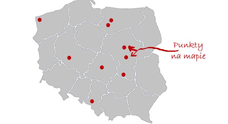 Mapa punktów