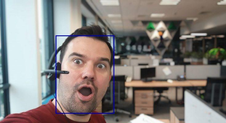 wykrywanie twarzy computer vision