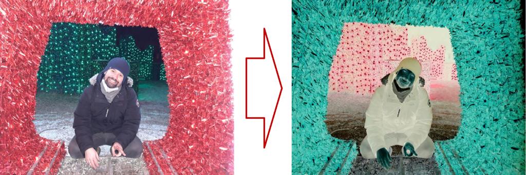 mirosław mamczur - przykład filtru negatywu
