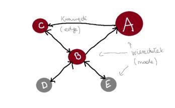 network graph / diagram sieci